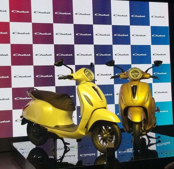 bajaj chetak electric 1571210243 - Bajaj Auto launches Chetak electric scooters, Check features, price & specifications