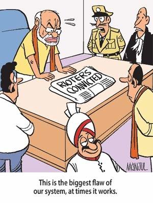 So Sorry: Narendra Modi's race to 7 RCR - YouTube