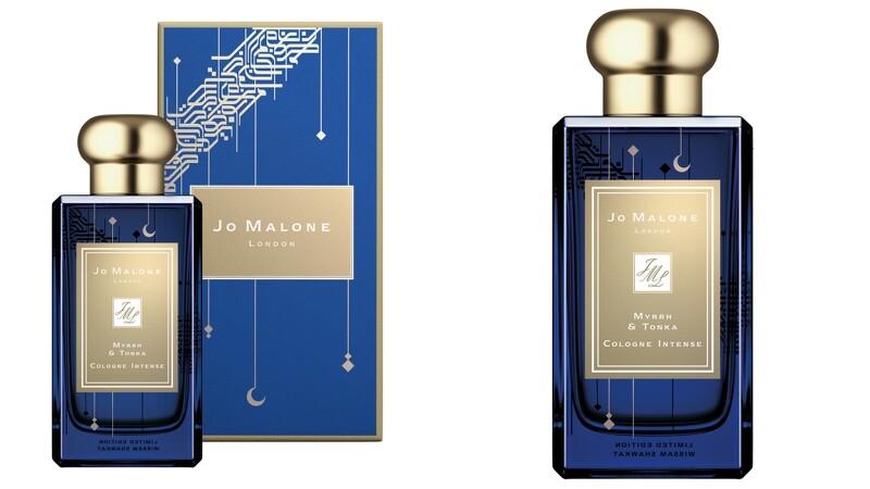 Jo Malone London黑瓶換上午夜藍瓶身,還點綴金色月亮超浪漫,限量新月包裝把一千零一夜的浪漫愛情故事搬到眼 ...
