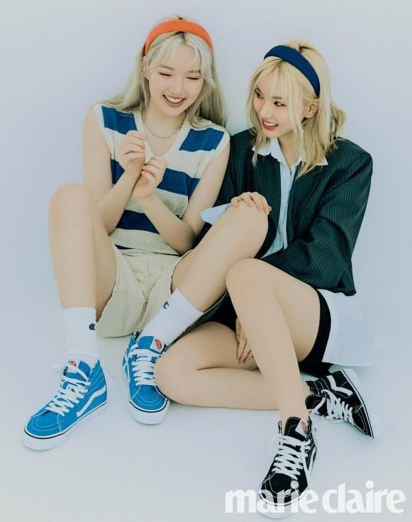 GFriend。一探Yerin、Eunha的閨蜜情誼:「我們要更努力一起妝點人生。不要留下遺憾。」   Marie Claire 美麗佳人