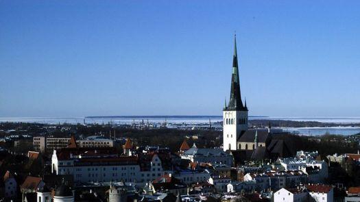 Kuvituskuvaa Tallinnasta.