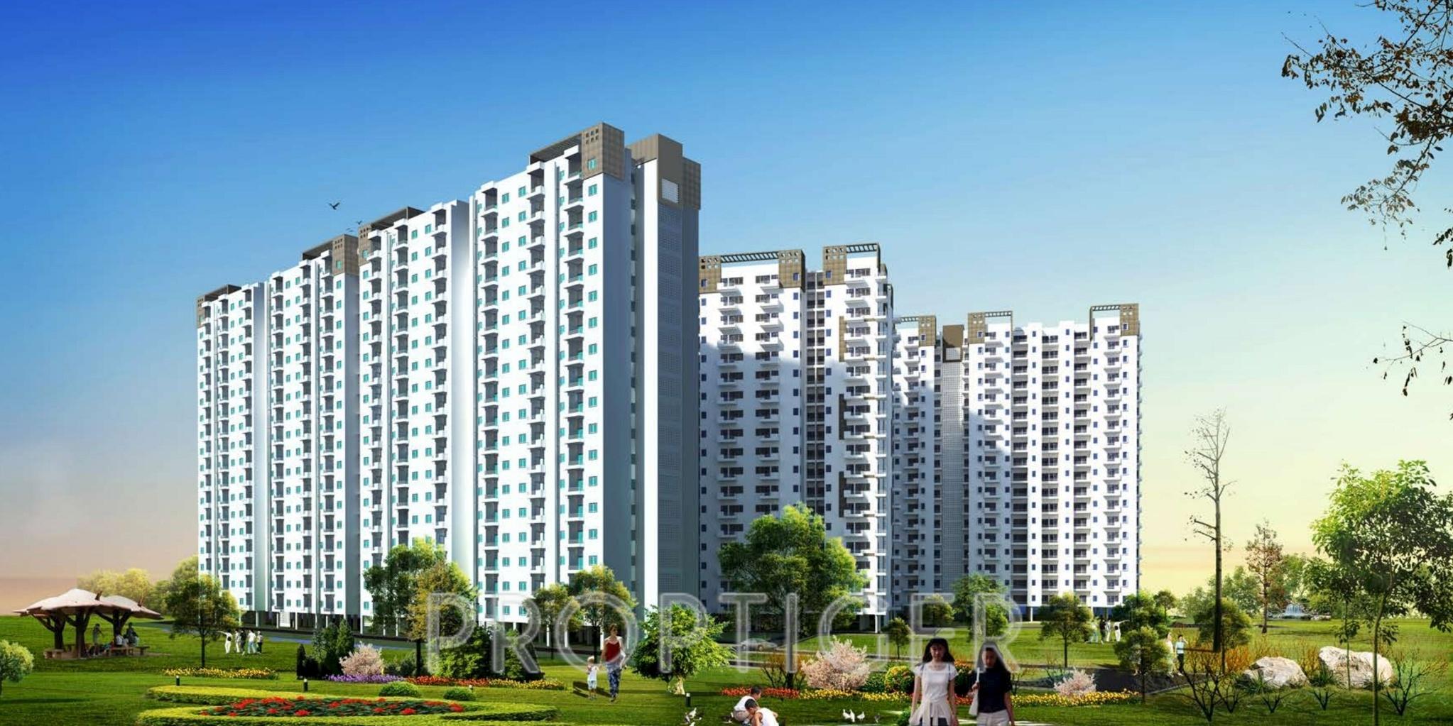 Crescent Crescent Apartments In Uattardhona Lucknow