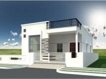 Small Single Floor House Elevation Design