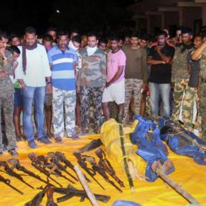 'Biggest-ever successful anti-Naxal operation in India'