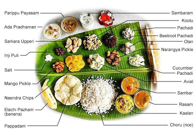 Onam Sadhya Simplified For You!