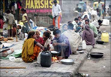 Image result for poor people india