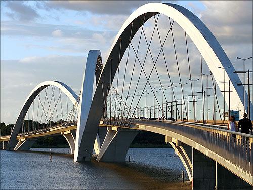 Juscelino Kubitschek Bridge, Brazil