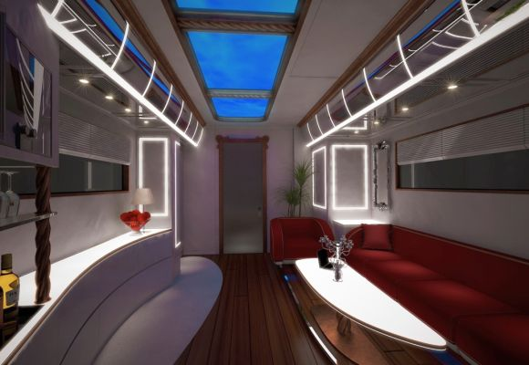 The Rs 18 crore palace on wheels  Rediffcom Business