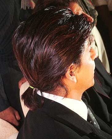 srk ponytail