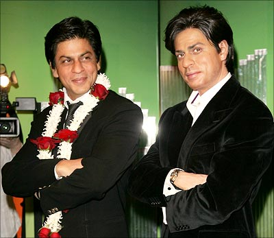 Image result for madame tussauds shahrukh khan
