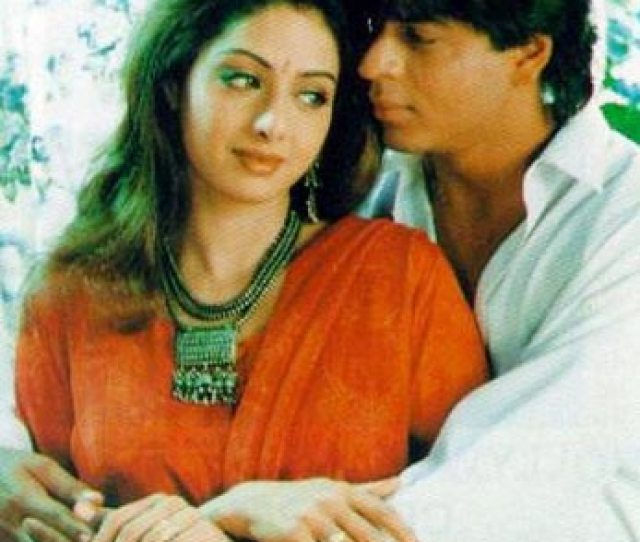 Sridevi And Shah Rukh Khan In A Scene From Army
