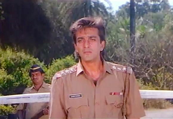 Image result for sanjay dutt police uniform