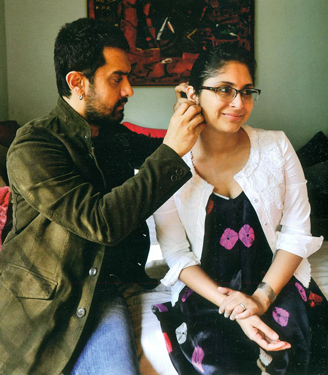 How Aamir Khan fell in love with Kiran Rao - Rediff.com Movies