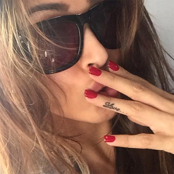 Malaika Flaunts Her New Tattoo Movies