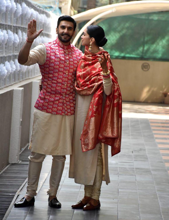 DeepVeer are back and they are adorable  Rediffcom movies