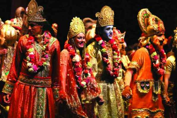 Image result for ramayana play
