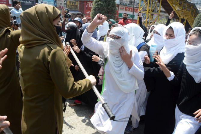 Kashmir is a battle of the mind  Rediffcom India News