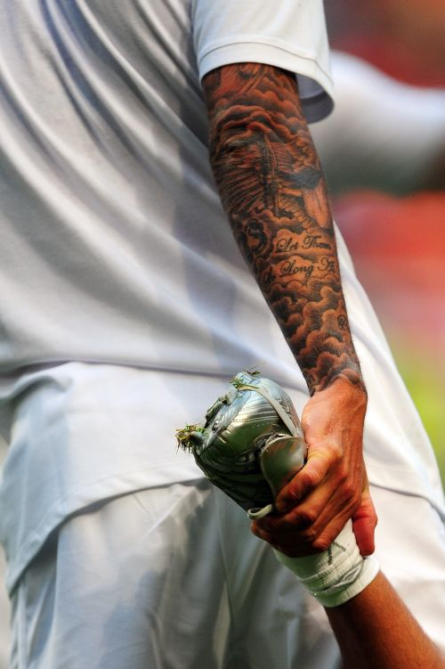 Photos David Beckham S Obsession With Tattoos Explained
