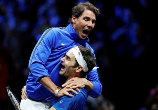 Image result for Federer leads Team Europe