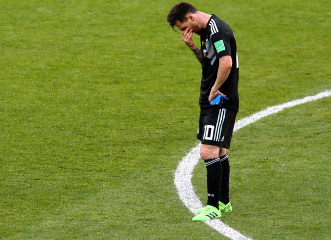 Image result for Messi penalty miss iceland