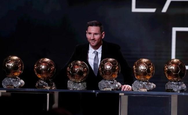 Messi Wins Record Sixth Ballon D Or Rediff Sports