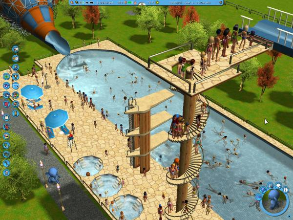 Roller Coaster Tycoon 3 Soaked - Year of Clean Water