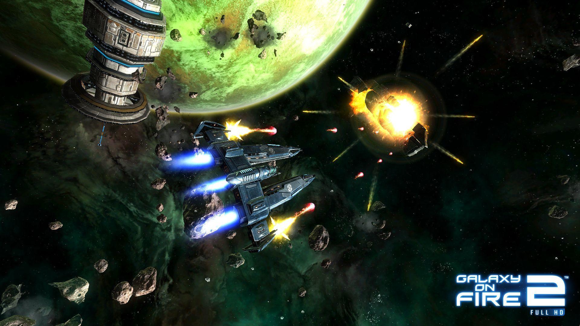 Galaxy On Fire 2 Full HD Gamescz