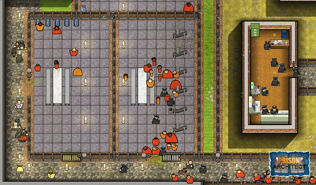 Prison Architect - Karta hry | GAMES.CZ