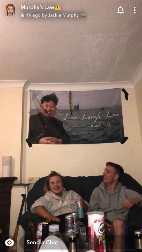 Kim Jong Un Flag Live Laugh Love : laugh, Gallery, Ellenno97