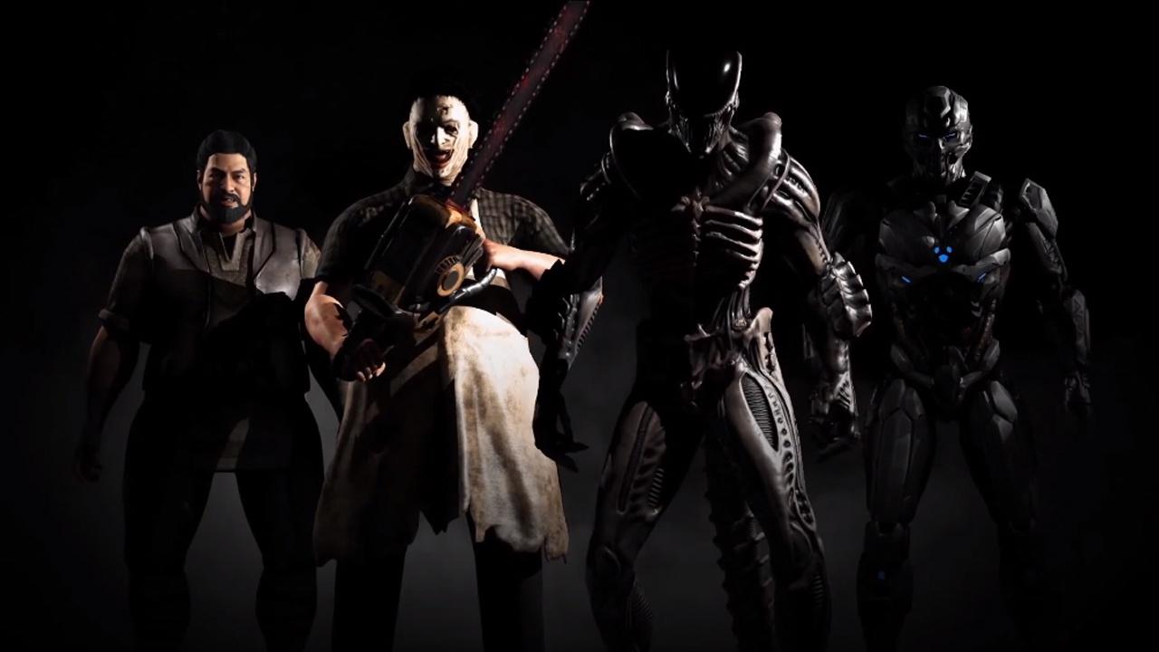 Mortal Kombat X Leatherface Y Alien En El Nuevo DLC