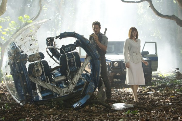 De ijzersterke Chris Pratt & Bryce Dallas Howard in Jurassic World