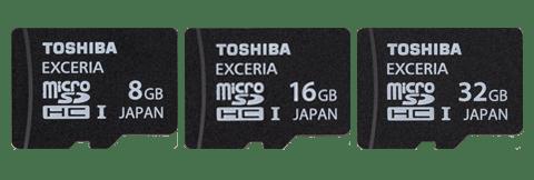 Toshiba-microSD