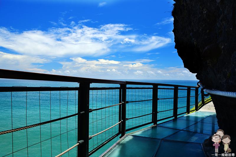 花蓮豐濱 懸浮在太平洋上的空中步道~親不知子海上古道 @一哥一嫂趣旅尋