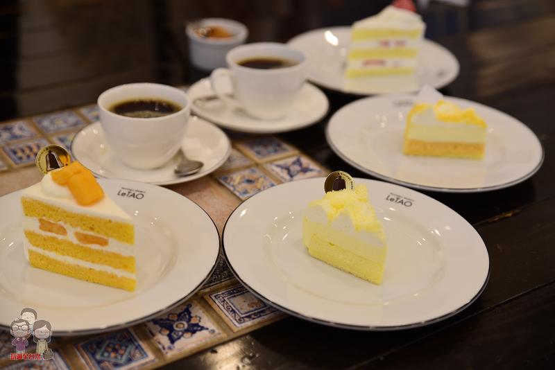 LeTAO -小樽洋菓子舗 浪漫的午茶時光~粉雪般的雙層乳酪蛋糕!