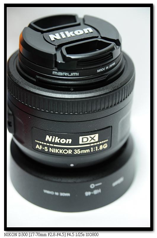 鏡頭開箱|NIKON 35mm F1.8