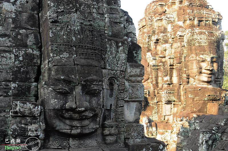 吳哥風華|微笑高棉.巴戎廟