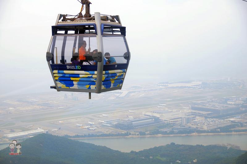 香港自由行|昂坪纜車.一覽大嶼山風情