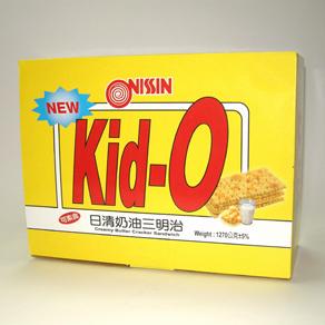 *好市多* Kid-O日清奶油三明治1270g/68入 (奶素)-臺灣經貿網