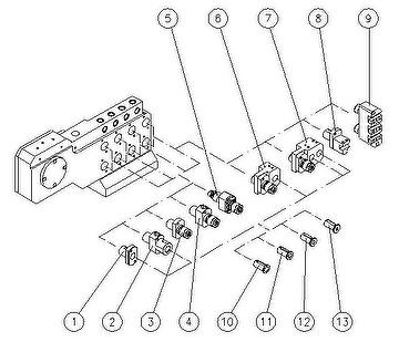 Mesin bubut tipe swiss CNC dengan sumbu Y ganda-W428
