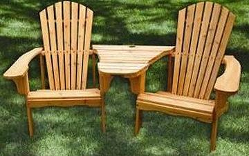 tete a chair outdoor living room covers at target taiwan adirondack furniture double seats