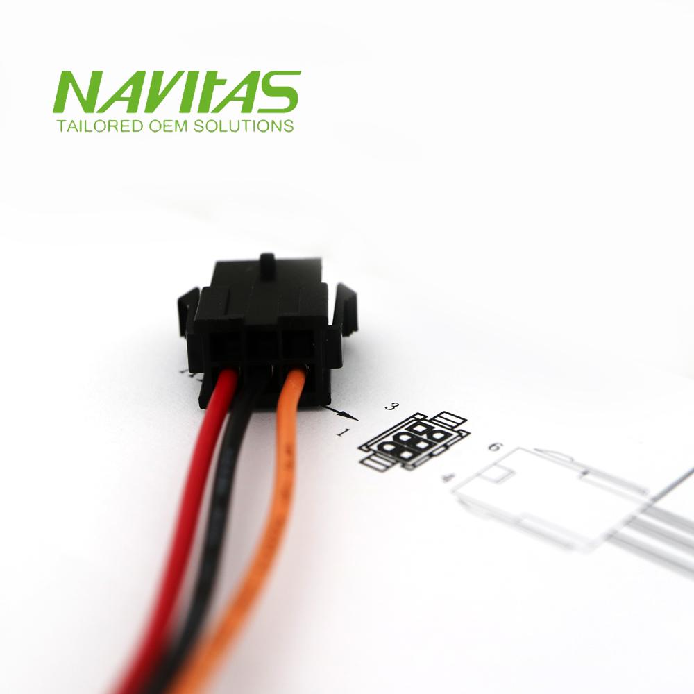 medium resolution of taiwan molex micro fit 6 pin 3mm pitch custom wiring harness assembly taiwantrade
