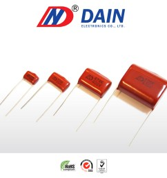 taiwan metallized polyester film capacitor 103k 630v pitch 10mm dain electronics co ltd  [ 1000 x 1000 Pixel ]