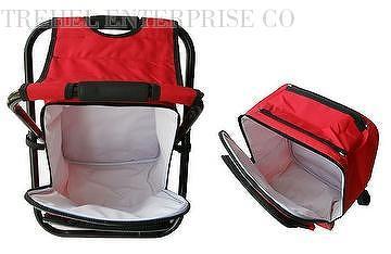 fishing cooler chair cracker barrell rocking taiwan bag backpack stool folding outdoor bench 102034