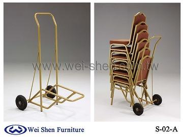 banquet chair trolley desk pink taiwan hotel metal