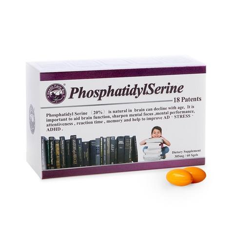 臺灣康田, 磷脂醯絲胺酸PS, 兒童保健, 60粒/盒-臺灣經貿網