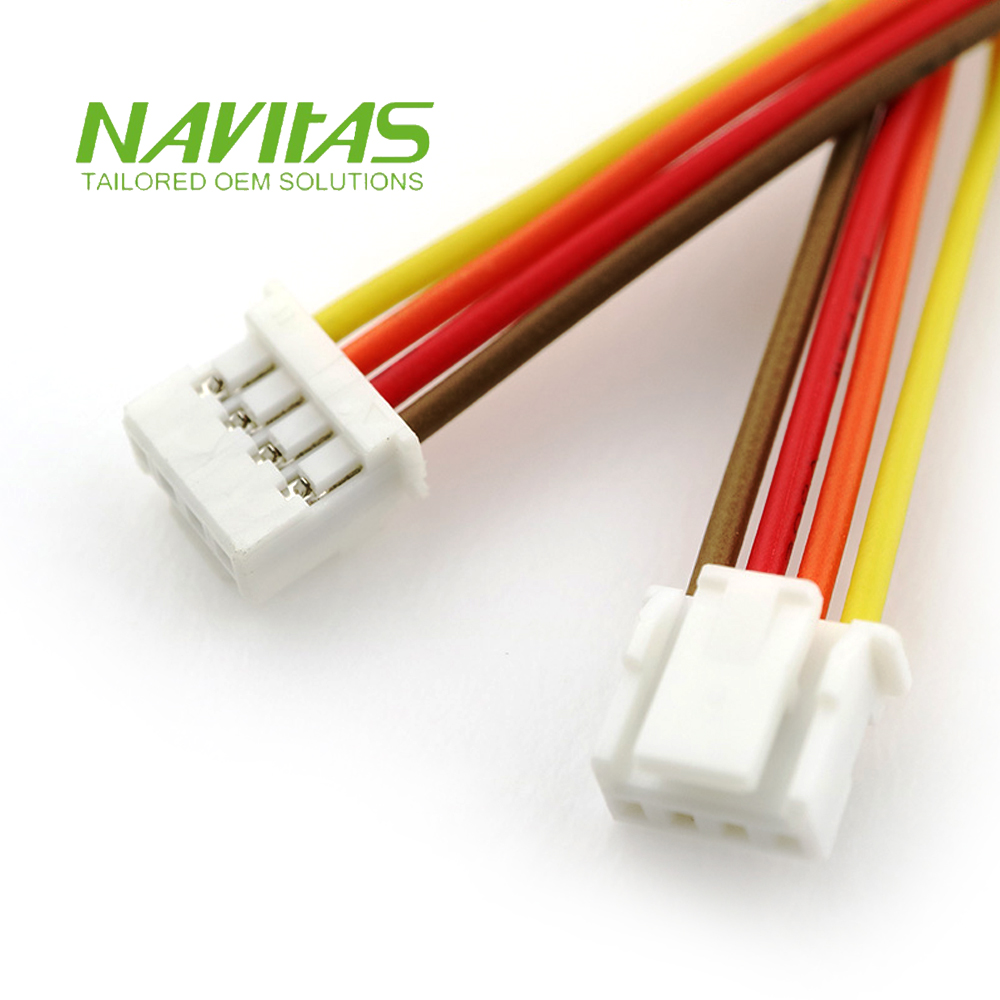 hight resolution of taiwan jst 4pin 2mm pitch pa connector custom wiring harness cable taiwantrade