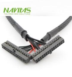 taiwan molex 51110 30pin 2mm pitch custom wire harness assembly taiwantrade [ 1000 x 1000 Pixel ]