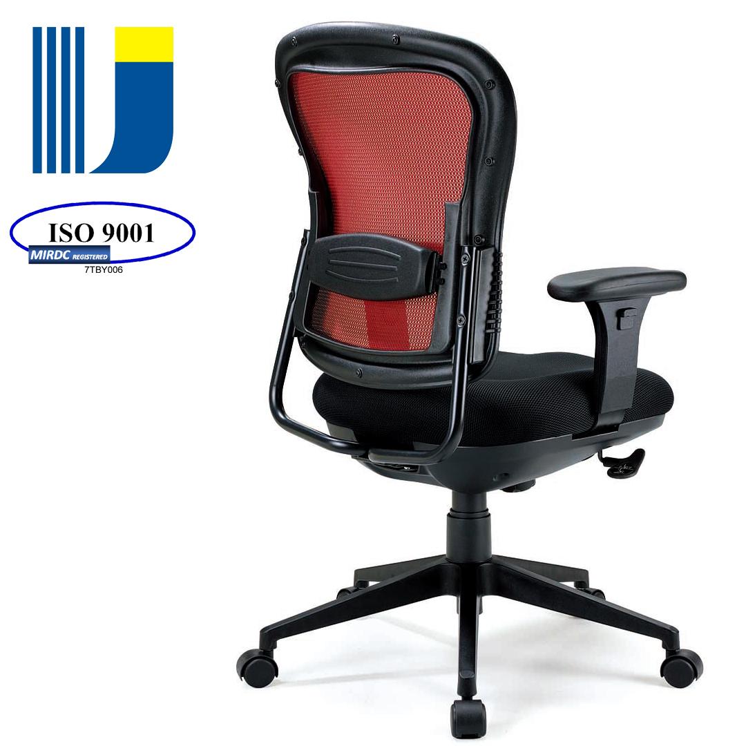 ergonomic chair bd swing in room taiwan staff model mesh office task w pu