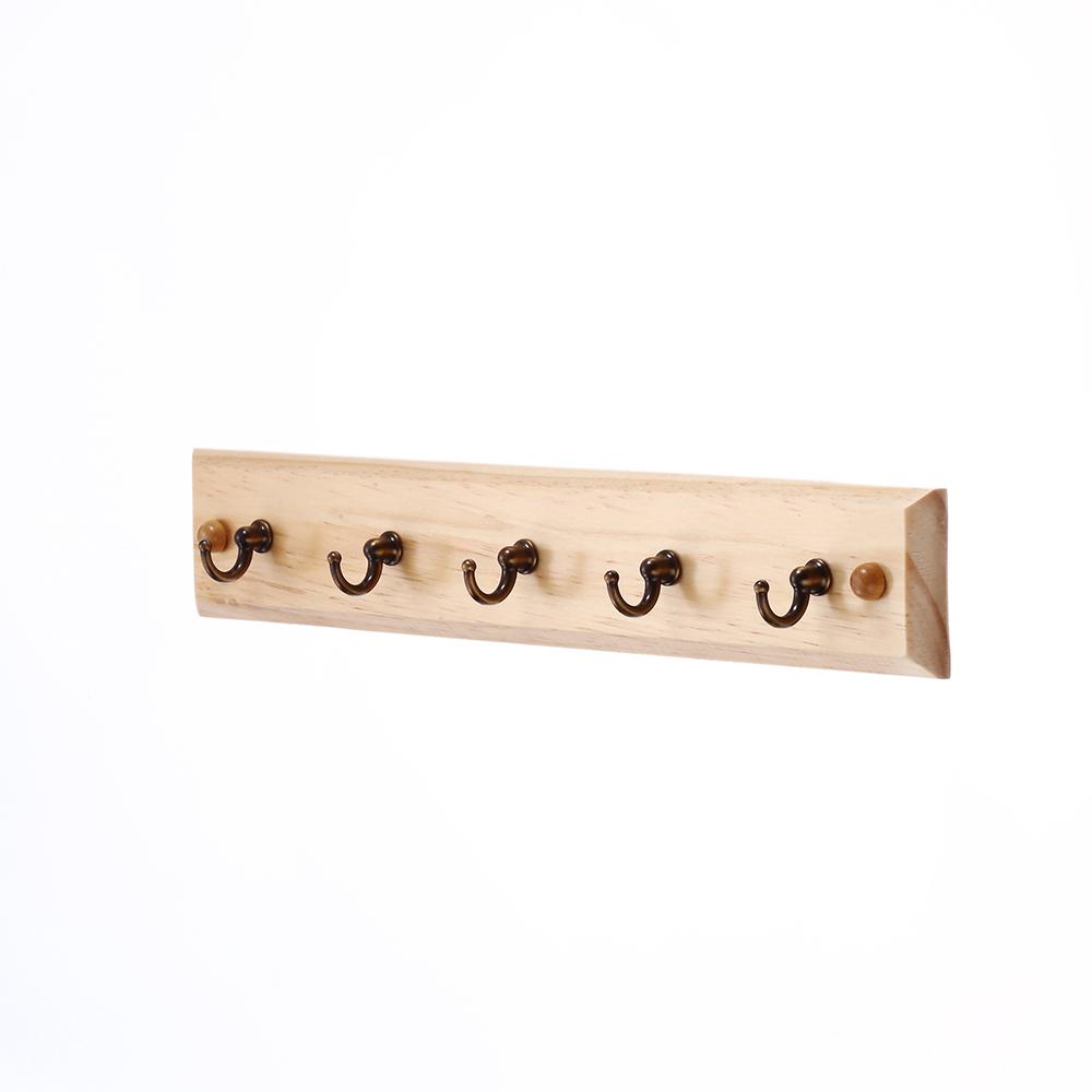 decorative coat wall wooden key hook