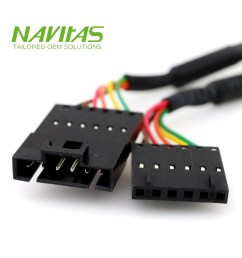molex 6pin 2 54mm male to female connector custom wiring harness assembly [ 1000 x 1000 Pixel ]